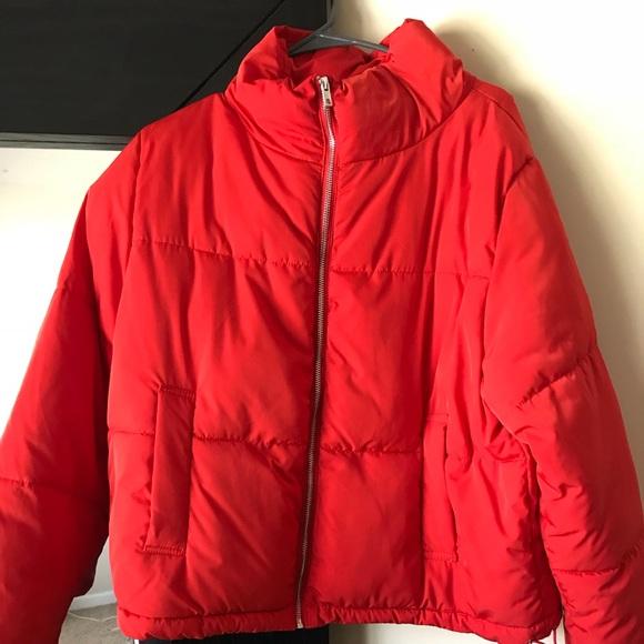 5e9f90b2a Red Bubble Coat